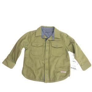 Hudson Cotton Long Sleeve Button Shirt